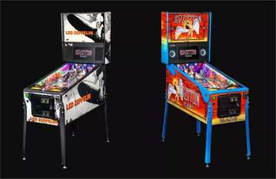 LED ZEPPELIN Pinball from Stern - Authentic mechanical pinball