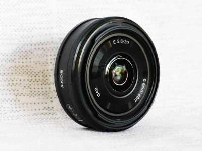 Sony E Mount 20mm F/2.8 compact wide-angle prime slim Lens