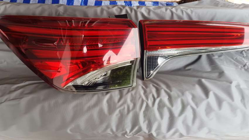 Fortuner trd tail lights