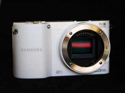 Samsung NX1000 Wi-Fi White Mirrorless Digital Camera Body