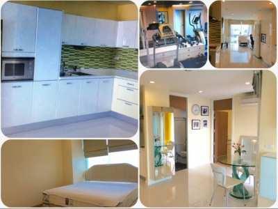 Fully furnished condominium for Sale Near BTS Wong Wien Yai