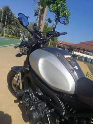 Yamaha XSR 900, very nice and fast bike (115 hp)