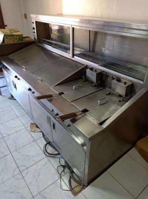 Full range fish and chip fryer