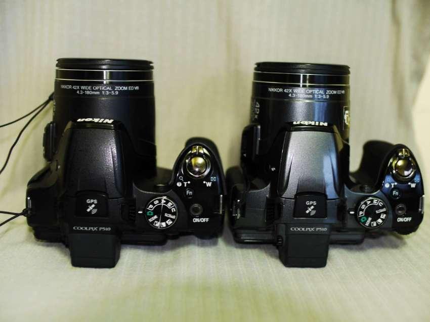 Nikon Coolpix P510 GPS Wide 42X Zoom ED VR 16.1MP Cameras