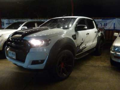ford ranger double cab hi rider 2.2 xlt at