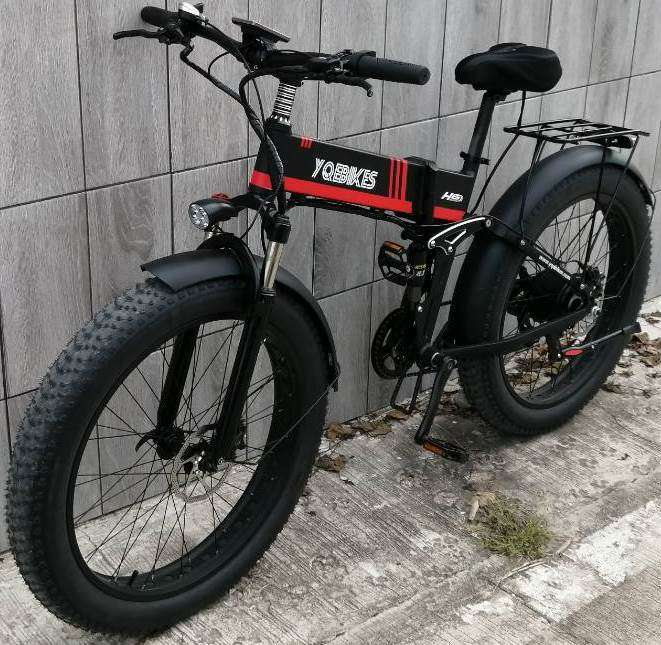 E Bike 1000W foldable + EXTRA BATTERY used only 1 time