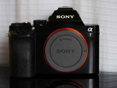 Sony A7 Black Body