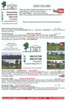 Land Plots for sale from 3 rai