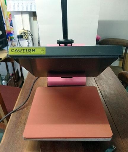 Electric Heat Press ideal Screening T Shirts Etc