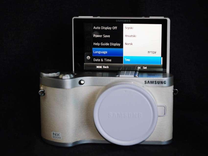 Samsung NX300M Wi-Fi BT NFC Smart Camera White Body