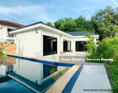 Brand new 2 bedroom pool villa in Rayong. Rental quarantee offered!