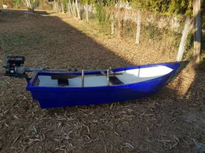 River Fishing boat
