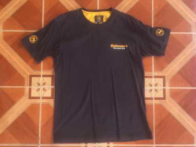Continental Motorcycle Tyres T-Shirt. Unused. Size Small.