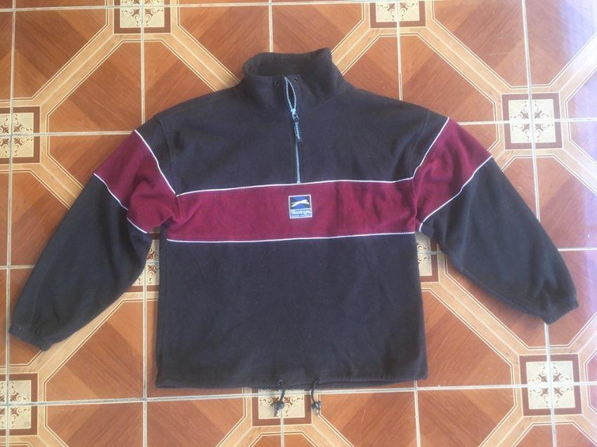 Slazenger Pullover/Coat with half zippered front. Size Medium.