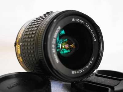 Nikon Nikkor AF-P and AF-S DX 18-55mm f/3.5-5.6 G VR lenses