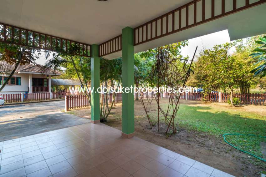 (HR171-02) Cute Fully-Furnished Home for Rent in Doi Saket