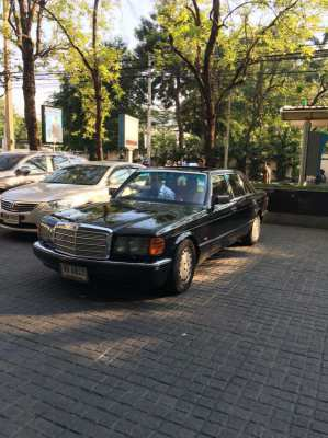 Mercedes Benz 500SEL Full House