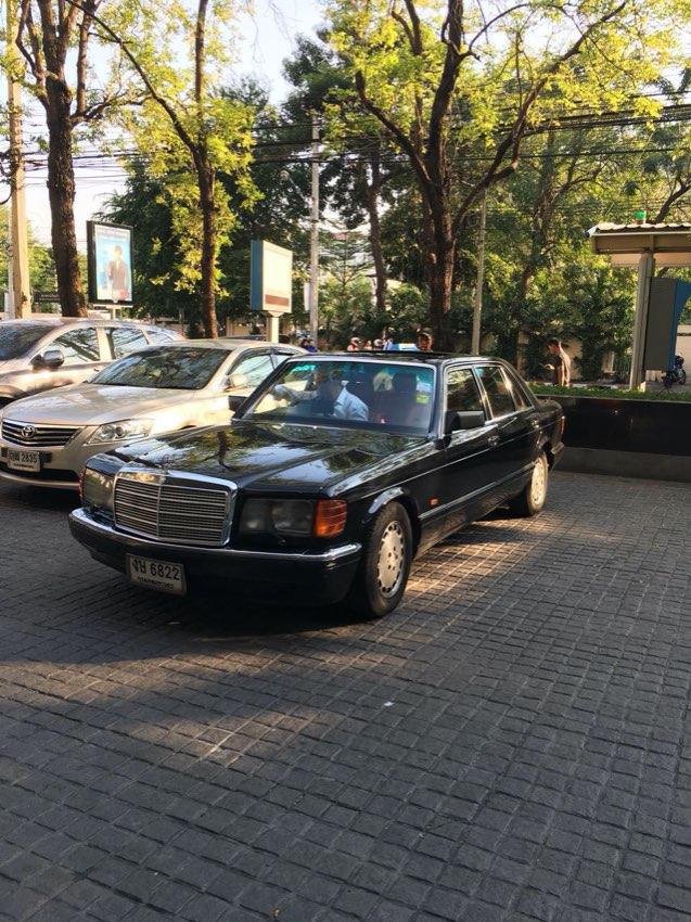 Mercedes Benz 500SEL Full House