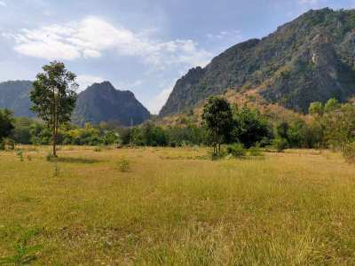 Fantastic Mountain View 380 TW (1,520 sqm.) Plot - Ready to Build On