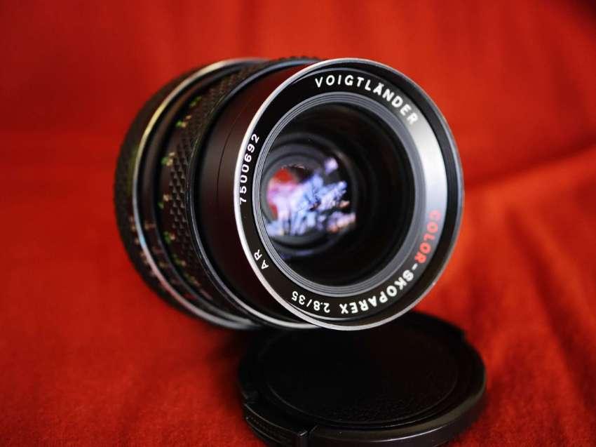 Voigtländer Color-Skoparex AR 35mm F/2.8 Wide-Angle Prime Lens Rollei