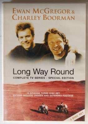Long Way Round on DVD 3 Disk Set – Motorbike Adventure/Travel
