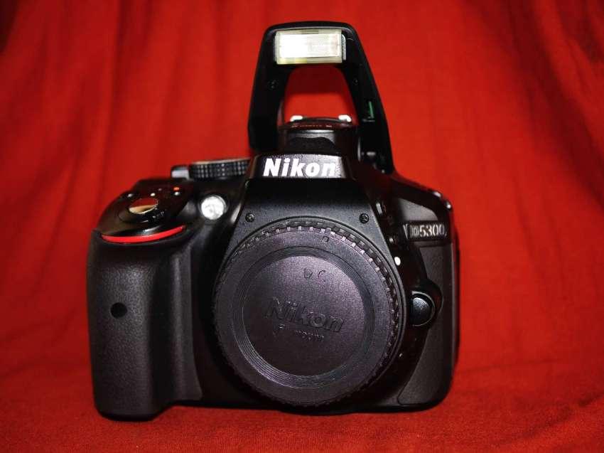 Nikon D5300 24.2MP DSLR Wi-Fi GPS Black Body