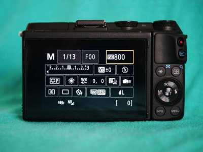 Canon EOS M3 Mirrorless Wi-Fi NFC Camera Black Body