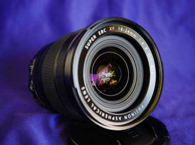 FUJIFILM Fuji Fujinon XF 10-24mm F/4 f4 R OIS Weather Resistance Lens