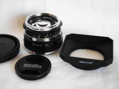 Geekster 35S 35mm f1.1 Lens for Sony E / NEX / FE Mount cameras