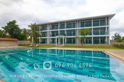 Hot Price! New Almost Completed Spa Resort For Sale (East Pattaya)