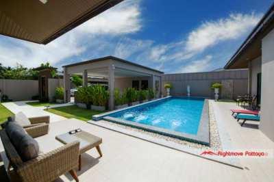 Immaculate 3 Bed Pool Villa @ Baan Pattaya 5