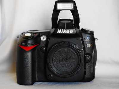Nikon D90 Digital SLR Camera - Black Body