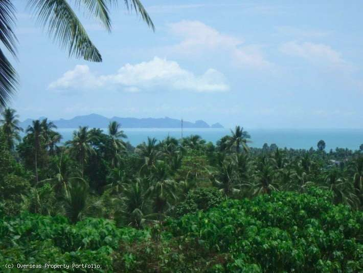 CHEAP SEA VIEW LAND IN LIPA NOI