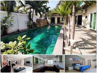Pool Villa 4 Bed 4 Bath / Private Beach Access for Sale on Pratamnak