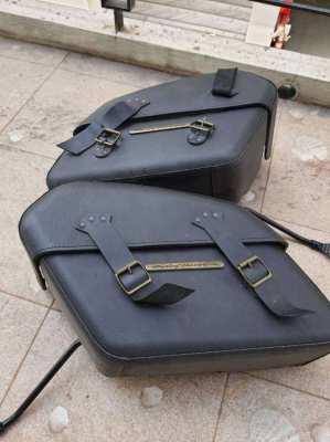 HD Fatboy sidebag