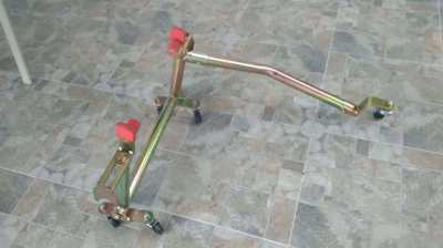 Motorcycle stand/trolley