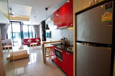 Modern studio in Japanese loft style near the sea in Phuket
