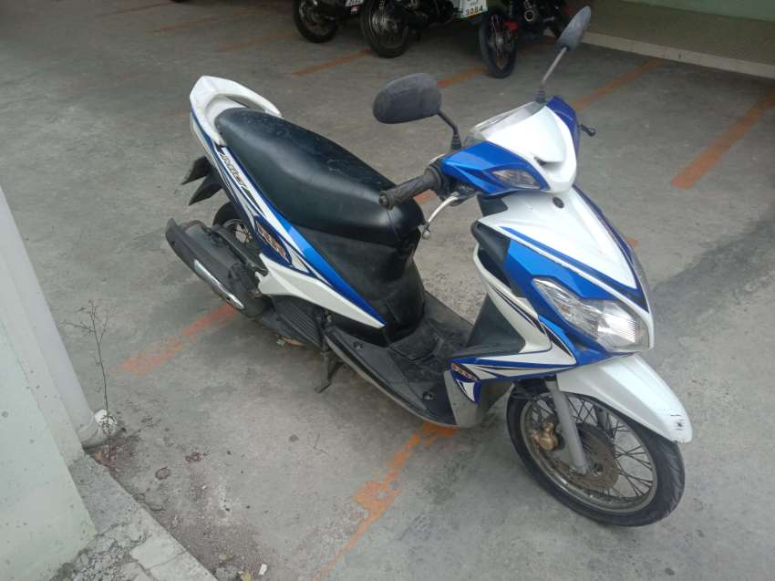 REDUCED Yamaha Mio, 2011, tax, insurance, green book