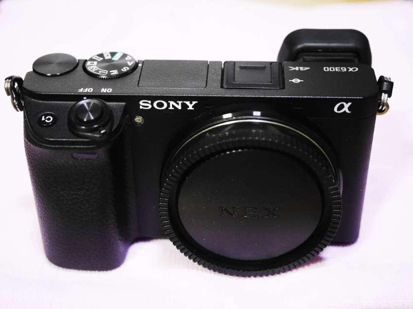 Sony A6300 24.2MP 4K Video Wi-Fi/NFC/QR code Black Body