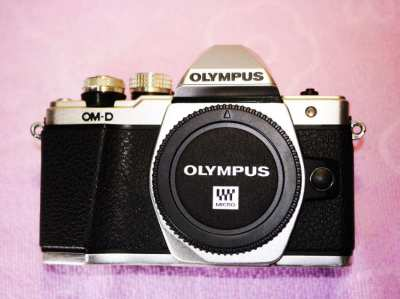 OLYMPUS OM-D E-M10 Mark II Wi-Fi Black Silver Body