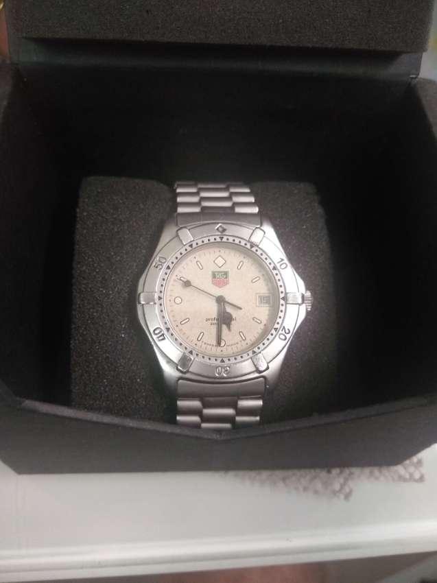 Vintage Tag Heuer Mens 41mm 2000 Series Watch Boxed
