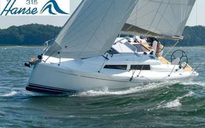 Hanse 315 - Great for Singles, Couples and Young Failies