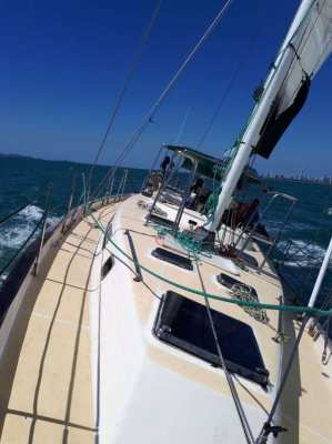 50' centre cockpit blue water cruiser for sale. Price reduced.