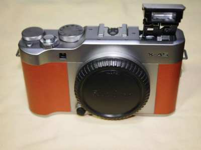 Fuji Fujifilm X-A5 24.3MP 4K Video Brown Color Body, Wi-Fi, BT