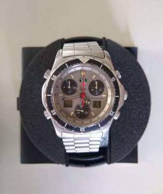 Super Rare Tag Heuer Watch King Size 40mm Chronograph Watch 270.206