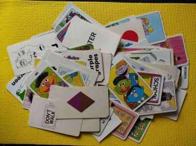 Sesame Street - Muppet's Learning Cards