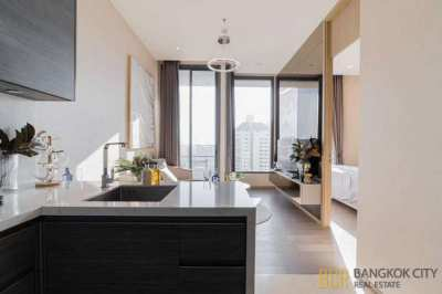 The Esse Asoke Ultra Luxury Condo 1 Bedroom Corner Unit for Rent/Sale