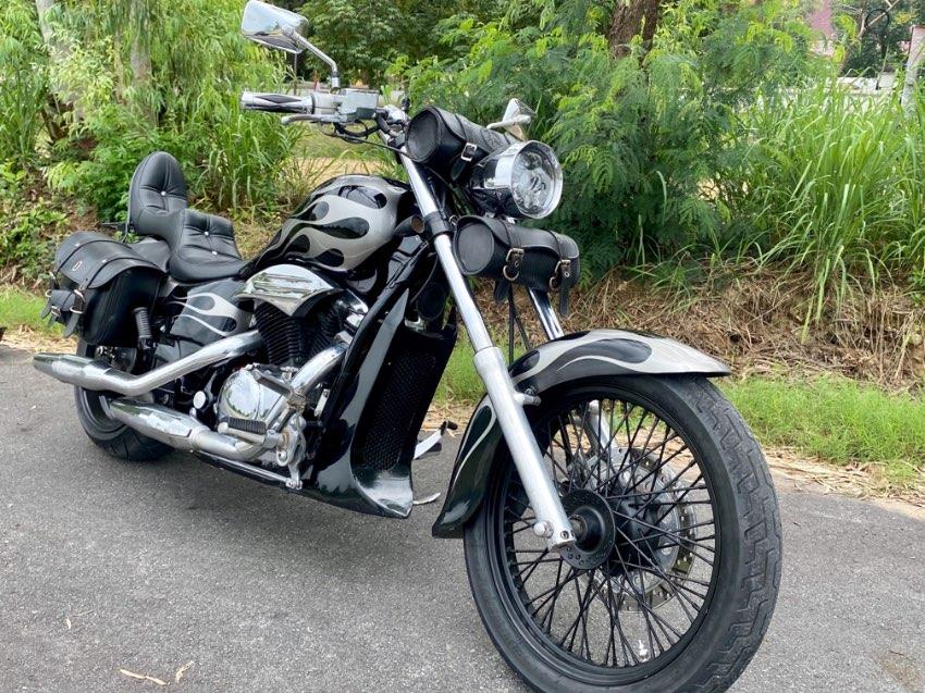 Honda Steed custom bike