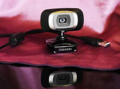 CANYON CNE-CWC3 Full HD Webcam 2.0 MP USB 2.0 PC / Mac