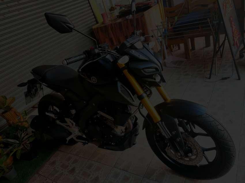 Yamaha MT-15 from 2020